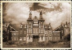"""The old hospital """"Le Valdor"""" was built in 1889. The castle-like building hides a huge monastery with kilometers of paths through corridors, ..."""