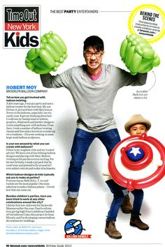 Time Out NY Kids Top 6 Party Entertainers 2013
