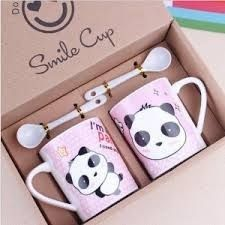 Shop for panda home & kitchen products at Panda Things, the world's number one panda store. Choose from a huge selection of panda items available now. Panda Love, Cute Panda, Coffee Art, Coffee Cups, Panda Kawaii, Panda Party, Cute Kitchen, Cute Mugs, Cool Stuff