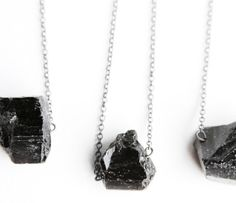 {Black Tourmaline Necklace} by Urban Aviary
