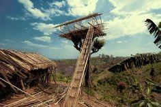 http://cabinporn.com/post/10132077602/new-guinea-tree-house