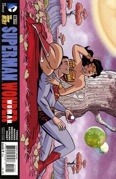 DC Comics - Superman Wonder Woman (2013) #14 Darwyn Cooke Variant