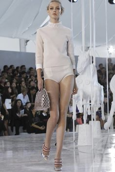 Frida Gustavsson at Louis Vuitton spring/summer 2012.  Haute Couture