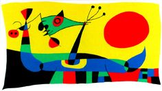 ´Everything will take place between the ´almost nothing´ and the ´nothing yet´.´ Jacques Dupin about Miró.  http://www.spaightwoodgalleries.com/Media/Miro/Miro_Comp2_JM_1957.jpg