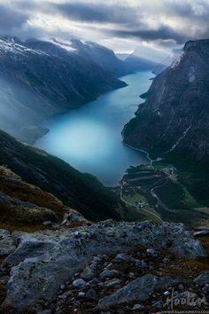 Noruega, Fiordo