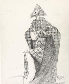 Concept Art, Lord Macintosh, Brave, 2012. By Carter Goodrich.