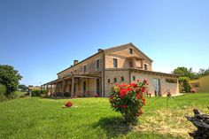 "This gorgeous farmhouse is placed in the countryside of region Marche and that's where the show begins! Once you leave the motorway in Senigallia, well known for its ""velvet beach"", you take your way to the multicoloured countryside of Le Marche, where medieval villages are well preserved and typical restaurants are spread here and there. This is where the property..."