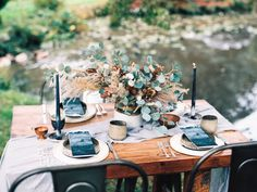 Gorgeous wedding inspiration captured by Jenny Losee Photography on Galiano Island right outside Vancouver, Canada Bohemian Wedding Reception, Wedding Bride, Reception Decorations, Table Decorations, Vendor Events, Rocky Mountains, Dried Flowers, Perfect Wedding, Wedding Inspiration