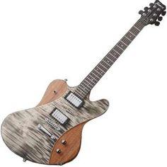 Framus Guitar Idolmaker Bleached Nirvana Black Transparent High Polish/Satin Side and Back