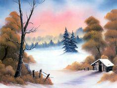 Winter Hideaway ~ Bob Ross