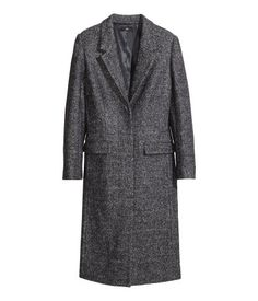 H&M Melange Coat in Wool Blend $129