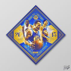 """GSW: 2015 NBA Playoffs """"Collection"""" by Caroline Blanchet on Behance"""