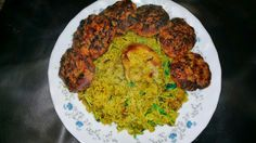 The Travelling Undhal: Chicken and peas akhni/pilau