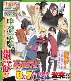 Boruto -Naruto the Movie- Reveals More Cast - News - Anime News Network Anime Naruto, Manga Anime, Naruto Art, Naruto And Sasuke, Gaara, Naruto Shippuden, Naruto Gaiden, Boruto And Sarada, Kakashi Hatake