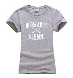 Women's T Shirt Hogwarts Alumni Harry Potter Inspired Magic Camisetas