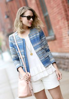 Check out how this week's Chic styles her summer statement jacket