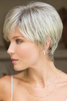 "How to style the Pixie cut? Despite what we think of short cuts , it is possible to play with his hair and to style his Pixie cut as he pleases. For a hairstyle with a ""so chic"" and pointed… Continue Reading → Short Brown Hair, Short Hair Cuts For Women, Short Hair Styles, Black Hair, Short Hairstyles For Women, Hairstyles Haircuts, Layered Hairstyles, Latest Hairstyles, Pixie Haircuts"