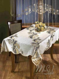 Mforstyle Tablecloths Home, Furniture & DIY Vanity Bench, Dining Table, Tablecloths, Beige, Blanket, Lace, Diy, Furniture, Home Decor