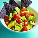 [Low Carbs] & [1 PointsPlus Point] Avocado-Corn Salsa