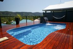 ♥ Swimming Pool Design Ideas 18 Backyard Landscaping Ideas Swimming Pool Design