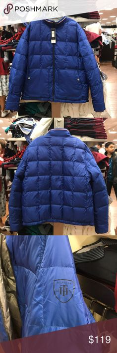 Tommy Hilfiger Men Reversible Winter Jacket Tommy Hilfiger Men Reversible Winter Puffer Jacket  New with tag, 60/40 Down-feather fill Tommy Hilfiger Jackets & Coats Puffers