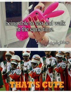 Marching Band Problems. Seriously. Try marching, playing (songs and cadences) remembering formations and dance routines AND telling the snares to stop speeding up the tempo.