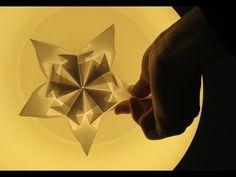 kite star (modular origami) Francesco Guarnieri- YouTube