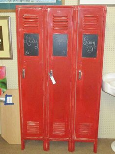 image result for upcycled lockers