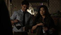 Episode 21- Cliffhanger: lol at Happy's face #TeamScorpion #ScorpionCBS
