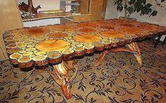 Comme vous faites à la main tables?