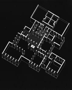 LOUIS KAHN    MORRIS HOUSE PROJECT, 1958