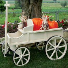 Amish Made Medium Buckboard Wagon