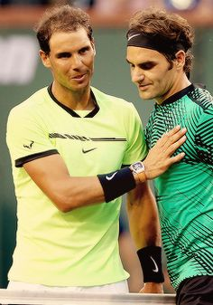 Roger Federer defeats Rafael Nadal 6-2 6-3 in the 4th Round of the BNP Paribas Open, this victory marks the first time Federer has defeated Nadal three times in a row in their 36 match history.