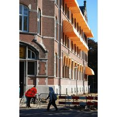 Oranje #orange #amsterdam Amsterdam, Multi Story Building, Street View, Instagram Posts, Photography, Photograph, Fotografie, Photoshoot, Fotografia