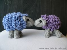 Shorn and Sharon Shorn the Crochet Sheep   a Little Zoo Animal