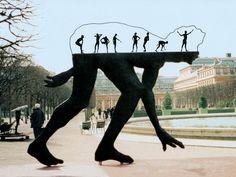 Metal Sculpture by Zadok Ben-David