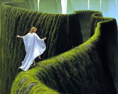 illustration, fantasy, see more from this author>> http://3rd-art.blogspot.com.es/2014/01/michael-whelan-1950.html
