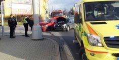 Na Doubravce se srazila dvě auta. Policisté hledají svědky