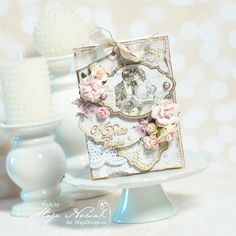 CraftHobby Oliwiaen: Wedding Card. Kartka ślubna