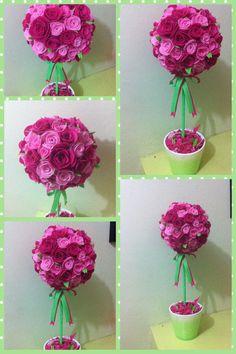 my 5th felt topiary ;)