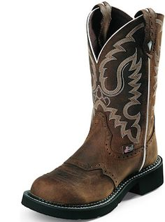 Justin Boots Gypsy L9909 Aged Bark.          I've been wanting a pair of these.