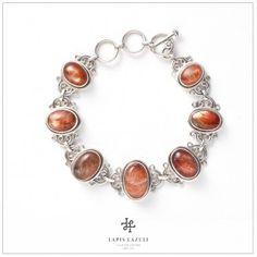 Sunstone Twirl Bracelet Gemstone Bracelets, Pandora Charms, Charmed, Gemstones, Silver, Jewelry, Jewlery, Money, Bijoux