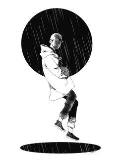 digital art boy abstract graphic design aesthetic drawing photoshop modern anime style asian japanese chinese ethereal g e o r g i a n a : a r t Bts Rap Monster, Art Halloween, Halloween Makeup, Character Art, Character Design, Bts Wallpapers, Fanart Bts, Bts Drawings, Moon Child