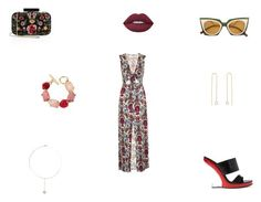 """""""Untitled #828"""" by panicsam ❤ liked on Polyvore featuring Topshop, Alice + Olivia, Fendi, Alexander McQueen, Julie Wolfe, Oscar de la Renta and Lime Crime"""