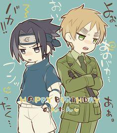 Naruto And Sasuke, Gaara, Hetalia England, Hetalia Anime, Craft Images, Hetalia Axis Powers, Anime Crossover, Cool Drawings, Boruto