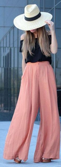 Orange + Black by Lola Mansil Fashion Diary
