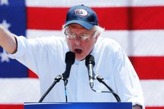 Bernie: I Don't Think My Supporters Will Vote for Donald... but they sure as hell ain't voting for Hillary !!!
