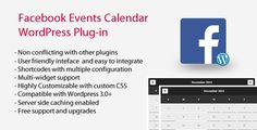 Facebook Events Calendar v4.9.0 - WordPress Plugin - https://codeholder.net/item/wordpress/facebook-events-calendar-wordpress