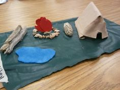 """Put them in small groups and had them build """"caveman shelters"""" during our stone-age unit. So much fun!"""