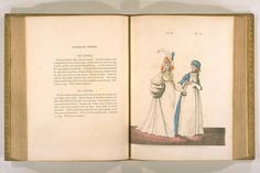English Fashion, Little White Dresses, Fashion Books, Fashion Plates, Hand Coloring, Regency, 18th Century, Gown, Gallery